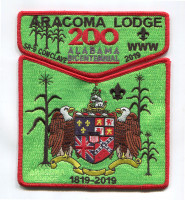 BWC Aracoma section flap Black Warrior Council #6