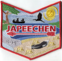 Agaming Japeechen revised chapter pocket Michigan Crossroads Council #780