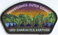 PDC FOS CSP. 2019 Pennsylvania Dutch Council #524